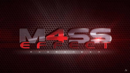 Mass Effect 4 Logo (Red) by ryansd