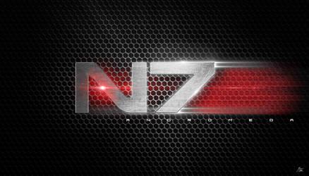 Mass Effect N7 Logo by ryansd