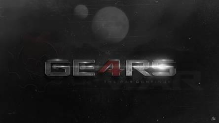 Gears Of War 4 Logo by ryansd