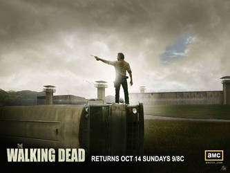 Walking Dead Prison Poster - Re-created by ryansd