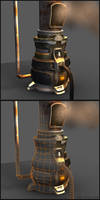 Futuristic Furnace by beere