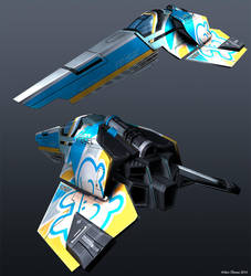 WipEout HD Fury - Feisar by beere