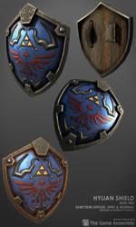 Hylian Shield by beere