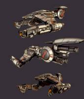 RendurrScorpio Warship by beere