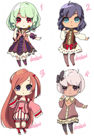 Adoptable Batch  || CLOSED || by Doshoi