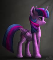 Twilight Sparkle Render by Robsa990