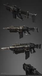 C6k Assault Rifle Final by ZackF