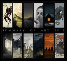 Summary of Art 2012 by AncientKing