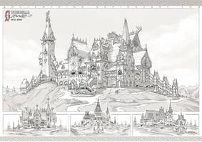 Cinderella - Castle by AncientKing
