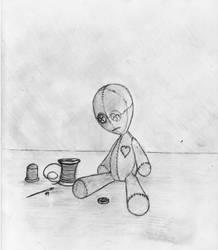 The Sad Doll by JacobMace