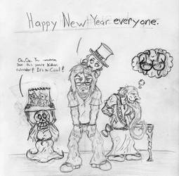 Sketches: New Year by JacobMace