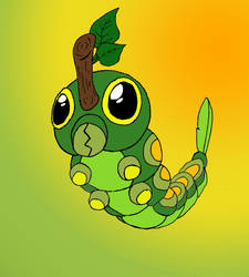 Forrest Caterpie by JacobMace