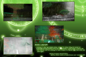Feralheart Map - Acedia Labyrinth by Hollowed-Chimera