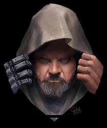 Luke Skywalker STAR WARS the last jedi by ordo1010