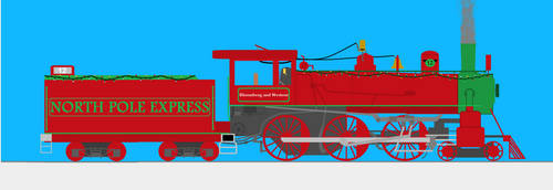 Steamer's Holly Jolly Chirstmas by TransportLover