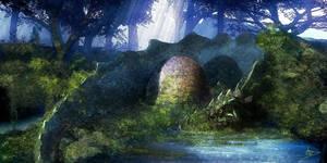 Dragon's Egg by biotechbob