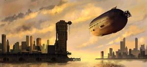 Zeppelin by biotechbob