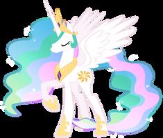 Princess Celestia of Equestria by Heart-Of-Stitches