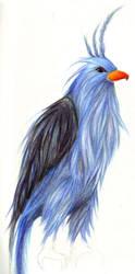 The Bird by xblackbird
