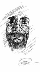 Aged Self Portrait by drakemb99