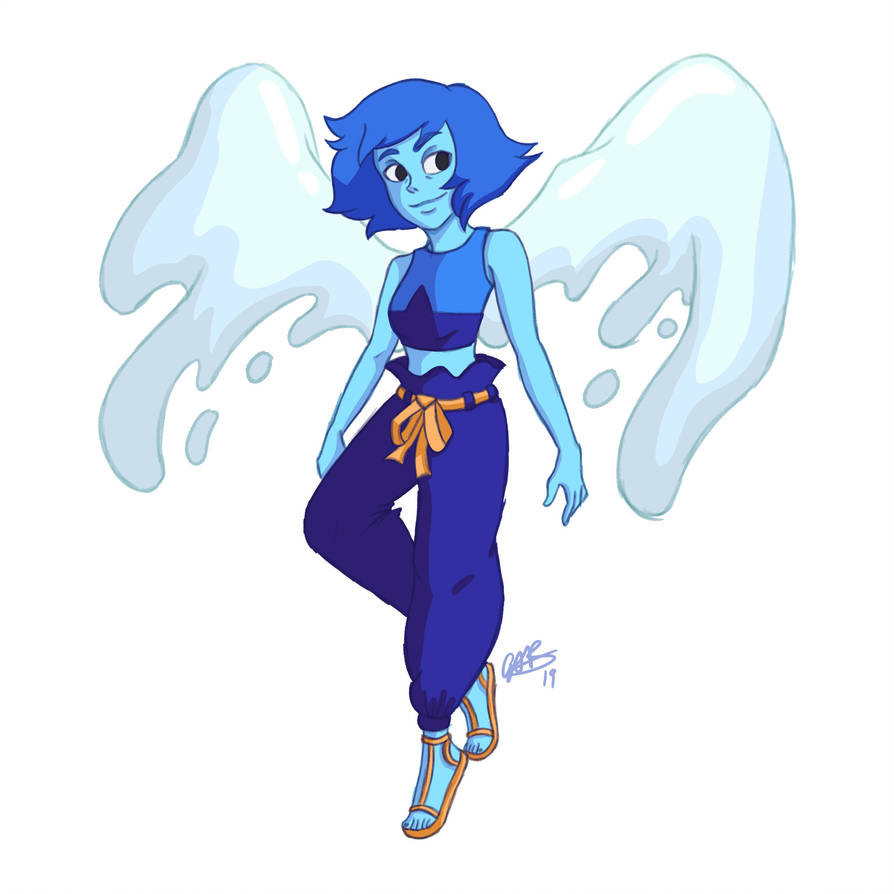 I adore Lapis' new form! She is definitely one of my favourite characters from the show and I am just in awe of her character development over the past few seasons. Plus I adore her friendship with...