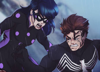 Spider-Man vs Miss fortune the final battle p2 by Nevillemadan007
