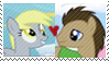 REQUEST:  Derpy Whooves Stamp by inkypaws-productions
