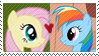 REQUEST:  Flutter Dash Stamp by inkypaws-productions