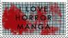 Horror manga stamp by katthekat