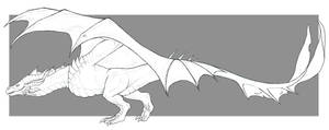 Wysdrem [FullBody Sketch Comm 2 ] by Zevanox
