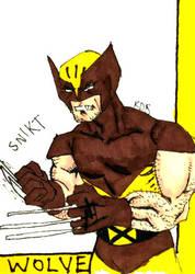 Wolverine by onizuka43