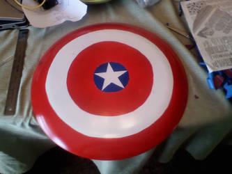 Captain America Shield by onizuka43