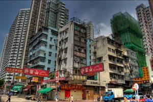 Old Hong Kong by 3vilCrayon