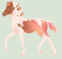 N4200 Padro Foal Design by zhalia-moon