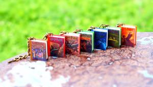 Tiny Seven Harry Potter Books Bracelet by Taisa-Winged