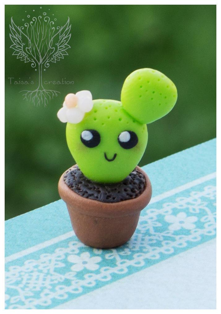 Tiny Cactus by Taisa-Winged