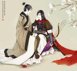 China and Mulan by Lotuspole