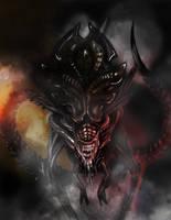 Alien queen by KevinBalt