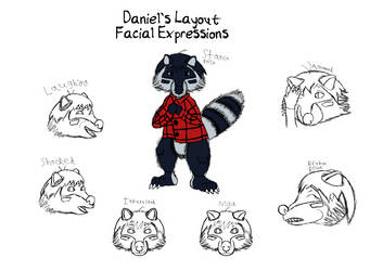 Daniel's Layout Facial Expressions by DevenDesign