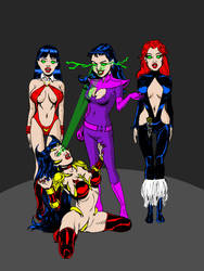 Hypnosis on Infinite Earths 15: Vampires by Mike184