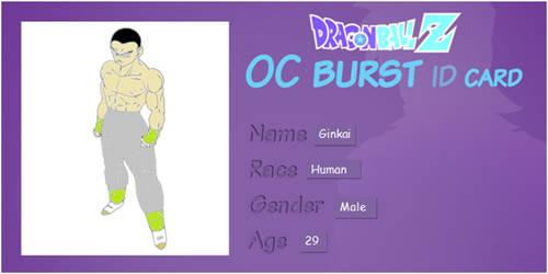Ginkai Oc Burst Id Card by RandomSketchGeek247