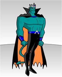 MAXIMUM DC- Aqua-man 1.0 by RandomSketchGeek247