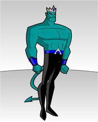 MAXIMUM DC- Aqua-man 1.1 by RandomSketchGeek247