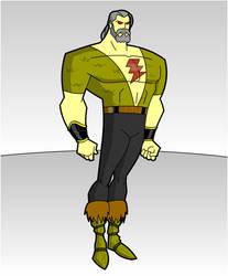 MAXIMUM DC- William Batson aka SHAZAM by RandomSketchGeek247