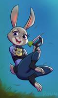 Judy Hopps by Povy