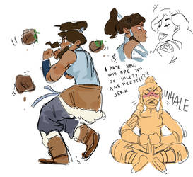 korra of the legend by supremedrae