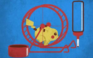 Pet Pikachu T-shirt Design by alsnow