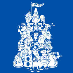 Day at the Mansion T-shirt design by alsnow