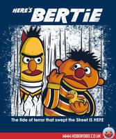 Here's Bertie T-shirt design by alsnow