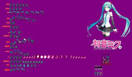 Hatsune Miku Sprites Jus Sheet Progreso... by XmayGrrr